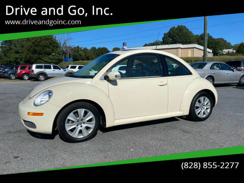 2008 Volkswagen New Beetle for sale at Drive and Go, Inc. in Hickory NC
