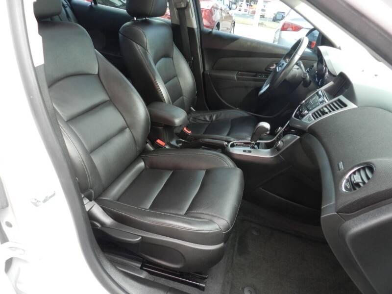 2013 Chevrolet Cruze LTZ Auto 4dr Sedan w/1SJ - Russellville OH