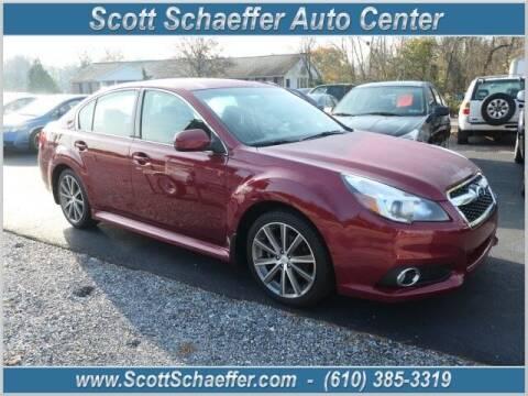 2014 Subaru Legacy for sale at Scott Schaeffer Auto Center in Birdsboro PA