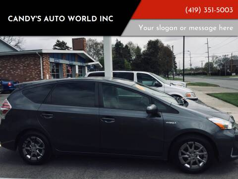 2015 Toyota Prius v for sale at Candy's Auto World Inc in Toledo OH