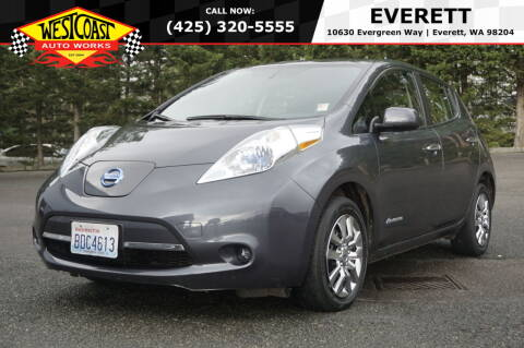 2013 Nissan LEAF for sale at West Coast Auto Works in Edmonds WA