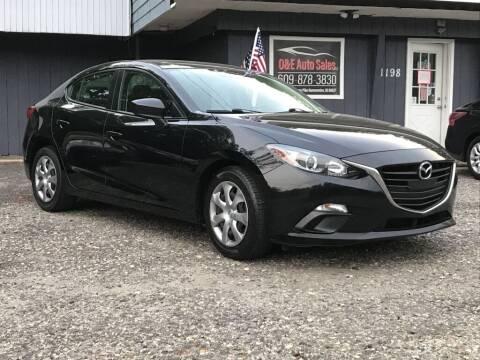 2014 Mazda MAZDA3 for sale at O & E Auto Sales in Hammonton NJ