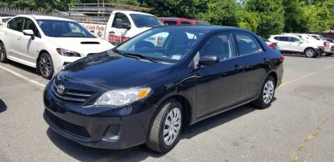 2013 Toyota Corolla for sale at Central Jersey Auto Trading in Jackson NJ