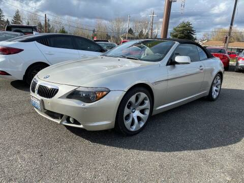 2005 BMW 6 Series for sale at LKL Motors in Puyallup WA