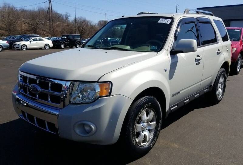 2008 Ford Escape for sale at Angelo's Auto Sales in Lowellville OH