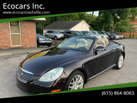 2003 Lexus SC 430 for sale at Ecocars Inc. in Nashville TN