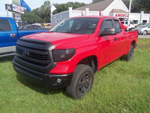 2014 Toyota Tundra for sale at ORANGE PARK AUTO in Jacksonville FL