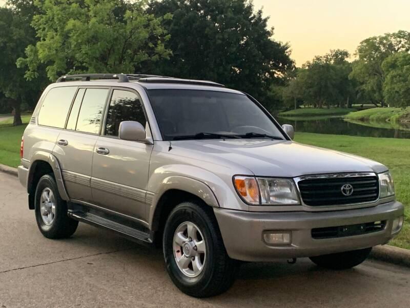 1999 Toyota Land Cruiser for sale at Texas Car Center in Dallas TX