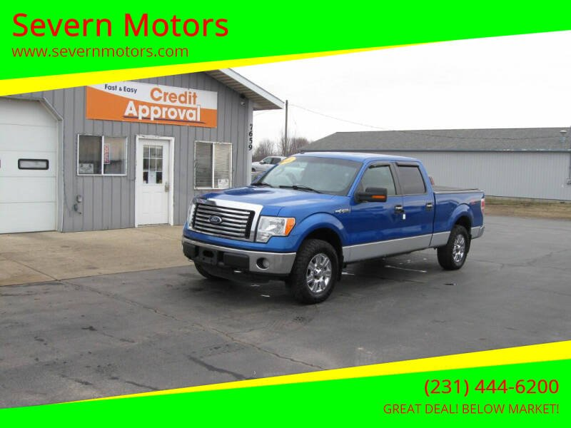 2011 Ford F-150 for sale at Severn Motors in Cadillac MI
