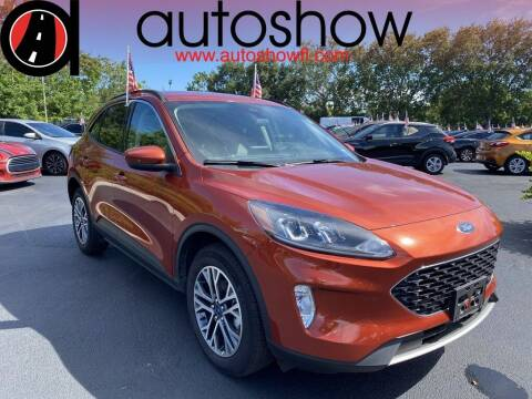2020 Ford Escape for sale at AUTOSHOW SALES & SERVICE in Plantation FL