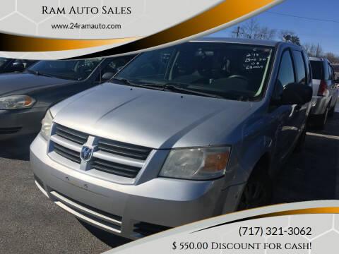 2008 Dodge Grand Caravan for sale at Ram Auto Sales in Gettysburg PA