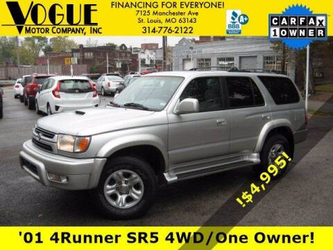 2001 Toyota 4Runner for sale at Vogue Motor Company Inc in Saint Louis MO