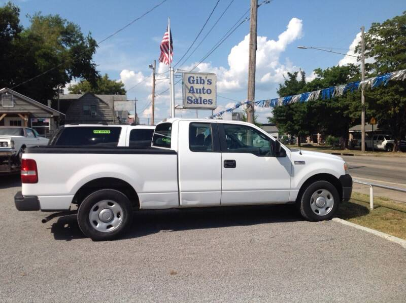 2007 Ford F-150 for sale at GIB'S AUTO SALES in Tahlequah OK