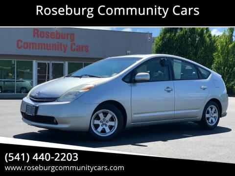 2005 Toyota Prius for sale at Roseburg Community Cars in Roseburg OR