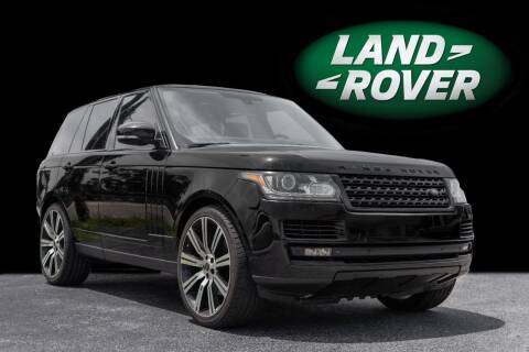 2014 Land Rover Range Rover for sale at PAUL YODER AUTO SALES INC in Sarasota FL