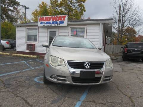 2009 Volkswagen Eos for sale at Midway Cars LLC in Indianapolis IN