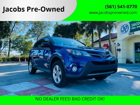 2014 Toyota RAV4 for sale at Jacobs Pre-Owned in Lake Worth FL