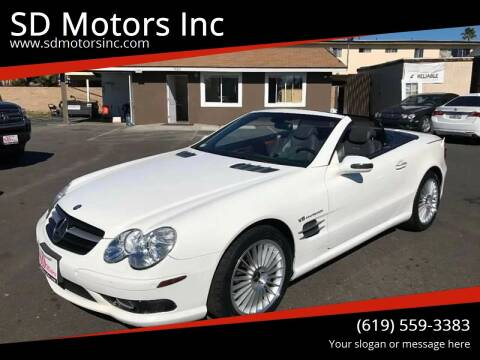 2003 Mercedes-Benz SL-Class for sale at SD Motors Inc in La Mesa CA