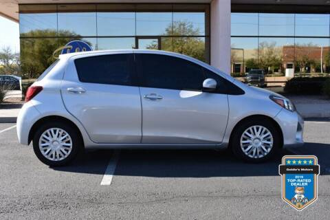 2017 Toyota Yaris for sale at GOLDIES MOTORS in Phoenix AZ