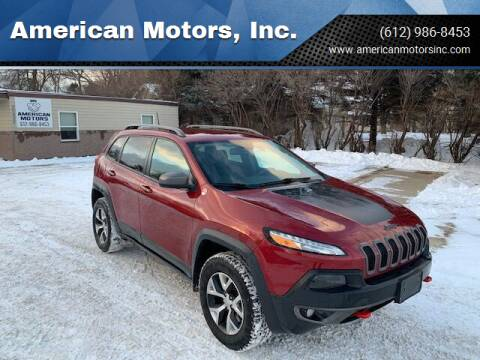 2016 Jeep Cherokee for sale at American Motors, Inc. in Farmington MN