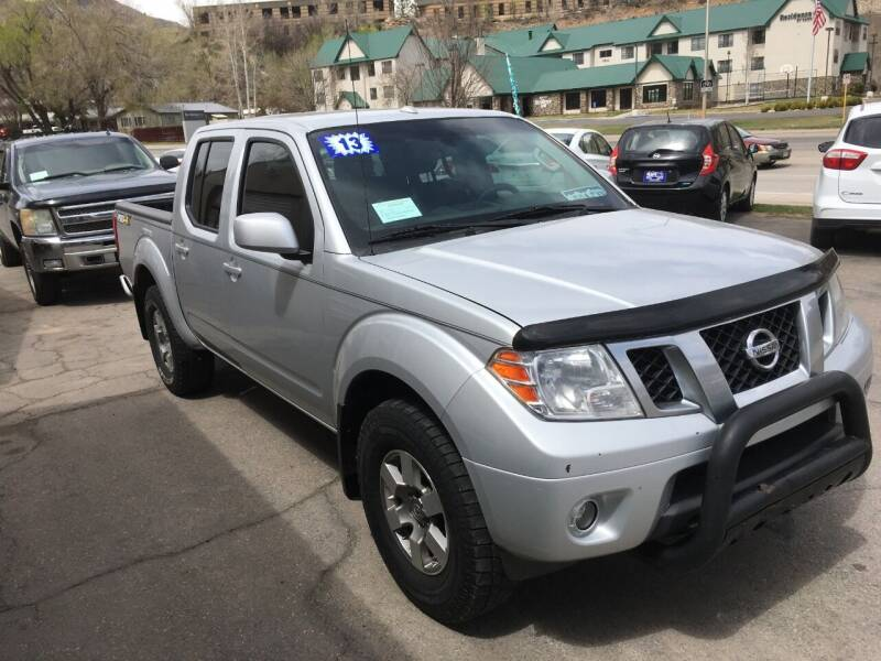 2013 Nissan Frontier for sale at 4X4 Auto Sales in Durango CO