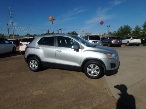 2015 Chevrolet Trax for sale at BLACKWELL MOTORS INC in Farmington MO