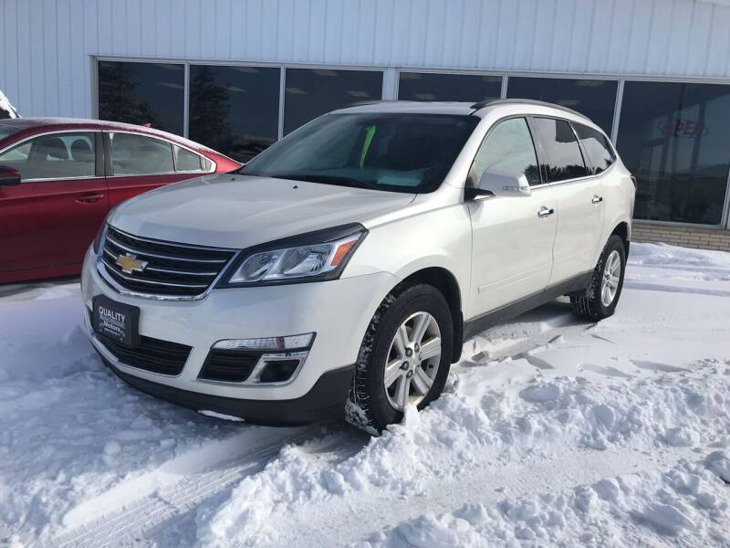 2013 Chevrolet Traverse for sale at QUALITY MOTORS in Cuba City WI