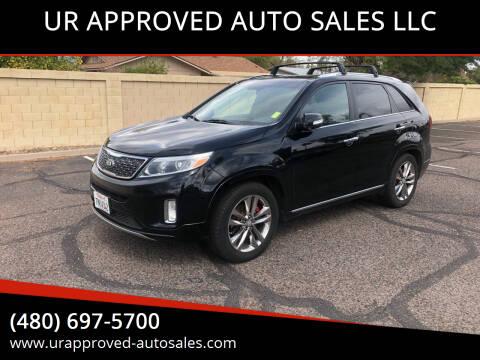 2015 Kia Sorento for sale at UR APPROVED AUTO SALES LLC in Tempe AZ