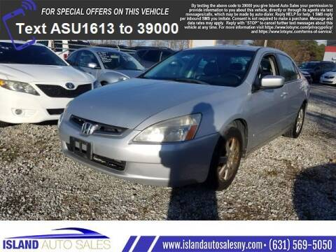 2005 Honda Accord for sale at Island Auto Sales in E.Patchogue NY
