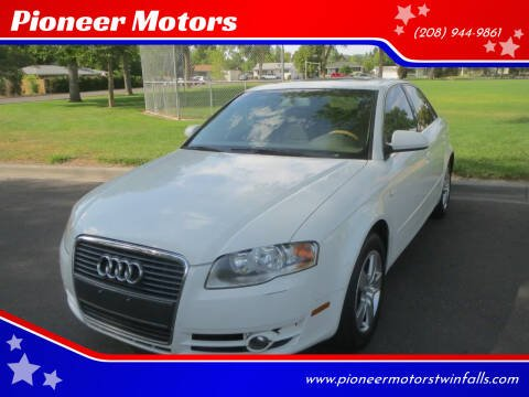2006 Audi A4 for sale at Pioneer Motors in Twin Falls ID