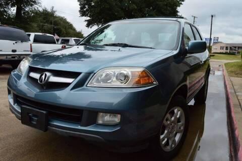 2006 Acura MDX for sale at E-Auto Groups in Dallas TX
