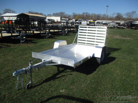 2022 Aluma Aluminum Single Axle Utility 6 for sale at Rondo Truck & Trailer in Sycamore IL