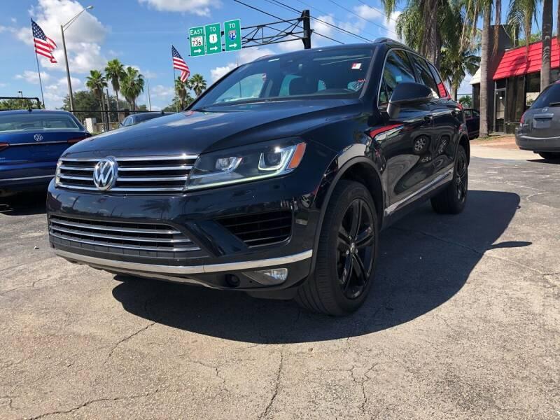 2017 Volkswagen Touareg for sale at Gtr Motors in Fort Lauderdale FL