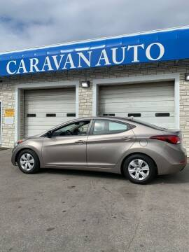 2016 Hyundai Elantra for sale at Caravan Auto in Cranston RI