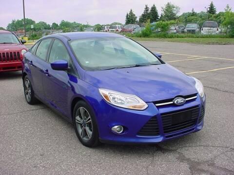 2012 Ford Focus for sale at VOA Auto Sales in Pontiac MI