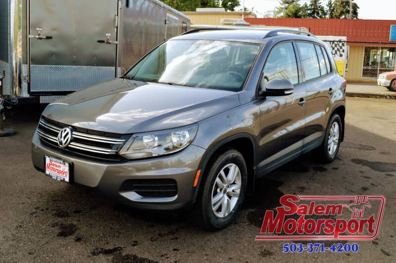 2015 Volkswagen Tiguan for sale at Salem Motorsports in Salem OR