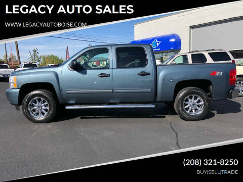 2011 Chevrolet Silverado 1500 for sale at LEGACY AUTO SALES in Boise ID