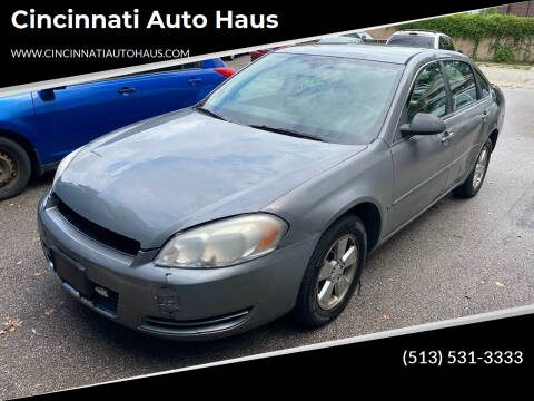 2008 Chevrolet Impala for sale at Cincinnati Auto Haus in Cincinnati OH