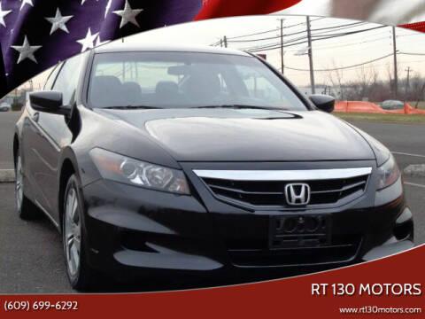 2011 Honda Accord for sale at RT 130 Motors in Burlington NJ