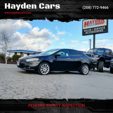 2013 Dodge Dart for sale at Hayden Cars in Coeur D Alene ID