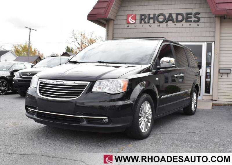 2014 Chrysler Town and Country for sale at Rhoades Automotive in Columbia City IN