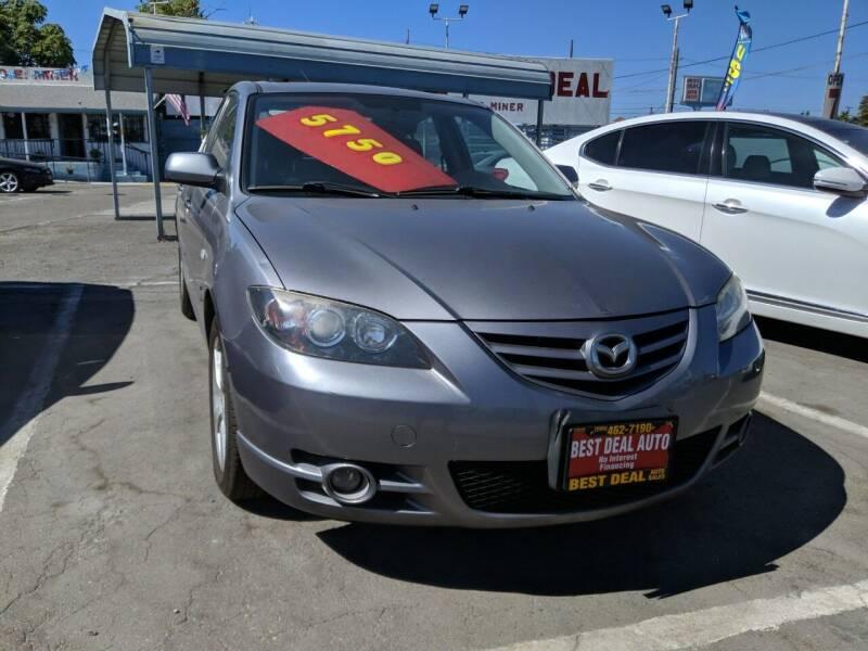 2006 Mazda MAZDA3 for sale at Best Deal Auto Sales in Stockton CA