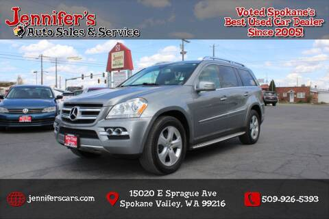 2011 Mercedes-Benz GL-Class for sale at Jennifer's Auto Sales in Spokane Valley WA
