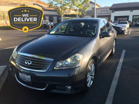 2008 Infiniti M35 for sale at ZOOM CARS LLC in Sylmar CA
