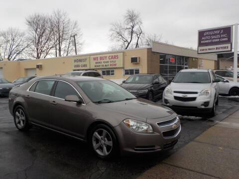 2011 Chevrolet Malibu for sale at Gregory J Auto Sales in Roseville MI