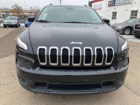2015 Jeep Cherokee for sale at Minuteman Auto Sales in Saint Paul MN