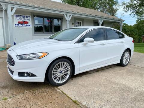 2016 Ford Fusion for sale at Brewer's Auto Sales in Greenwood MO