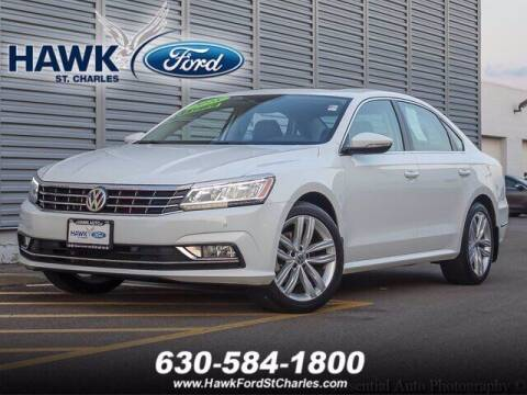 2018 Volkswagen Passat for sale at Hawk Ford of St. Charles in Saint Charles IL