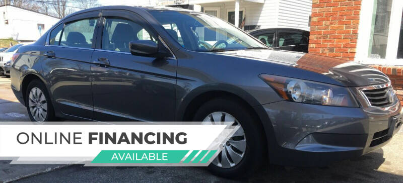2009 Honda Accord for sale at Tony's Gas & Repair Auto Sales in Fall River MA