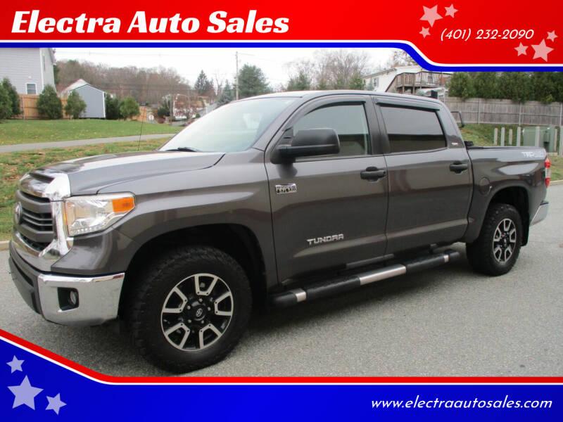 2015 Toyota Tundra for sale at Electra Auto Sales in Johnston RI